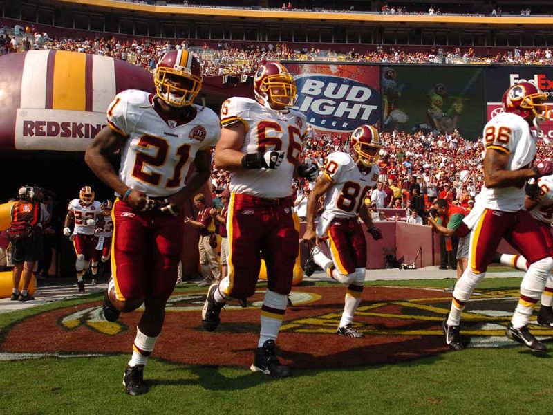 LANDOVER, MD - OCTOBER 7:  Sean Taylor #21 of the Washington Redskins takes the field against the Detroit Lions at FedExField on October 7, 2007 in Landover, Maryland. The Redskins defeated the Lions 34-3. (Photo by Larry French/Getty Images)